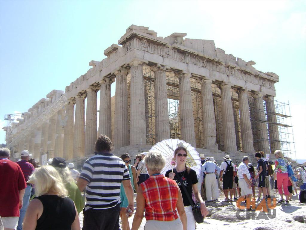 El Partenon, lo tenes q ver en Atenas