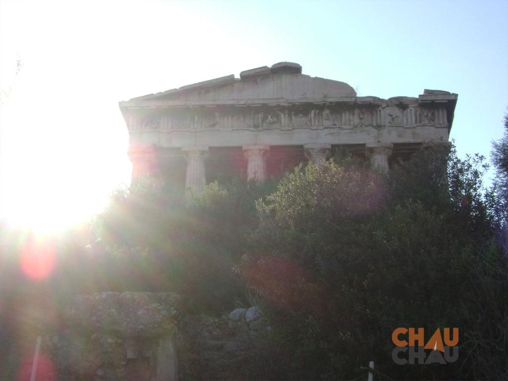 El Hefestion, uno de los mas importantes sitios turisticos Atenas.
