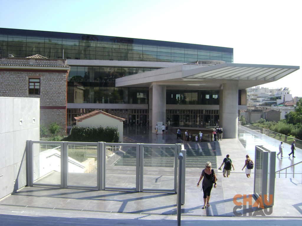 Museo de la Acropolis, que conocer en Atenas.
