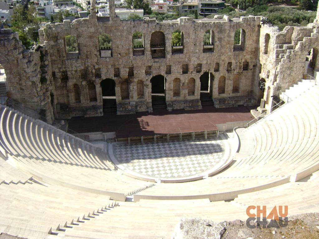 El Odeon, sitios que ver en Atenas