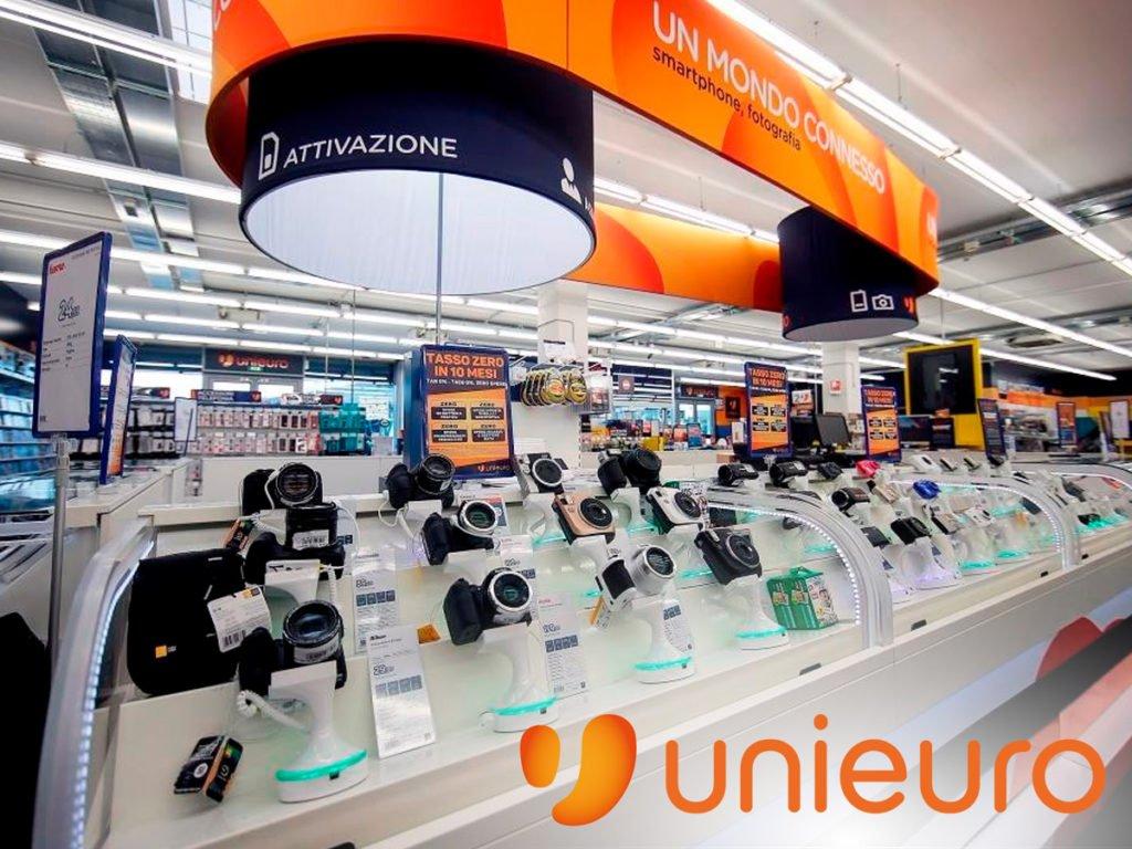 Unieuro venta de productos tecnologicos en Europa