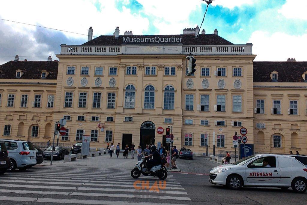 MUSEUMQUARTIER DE VIENA
