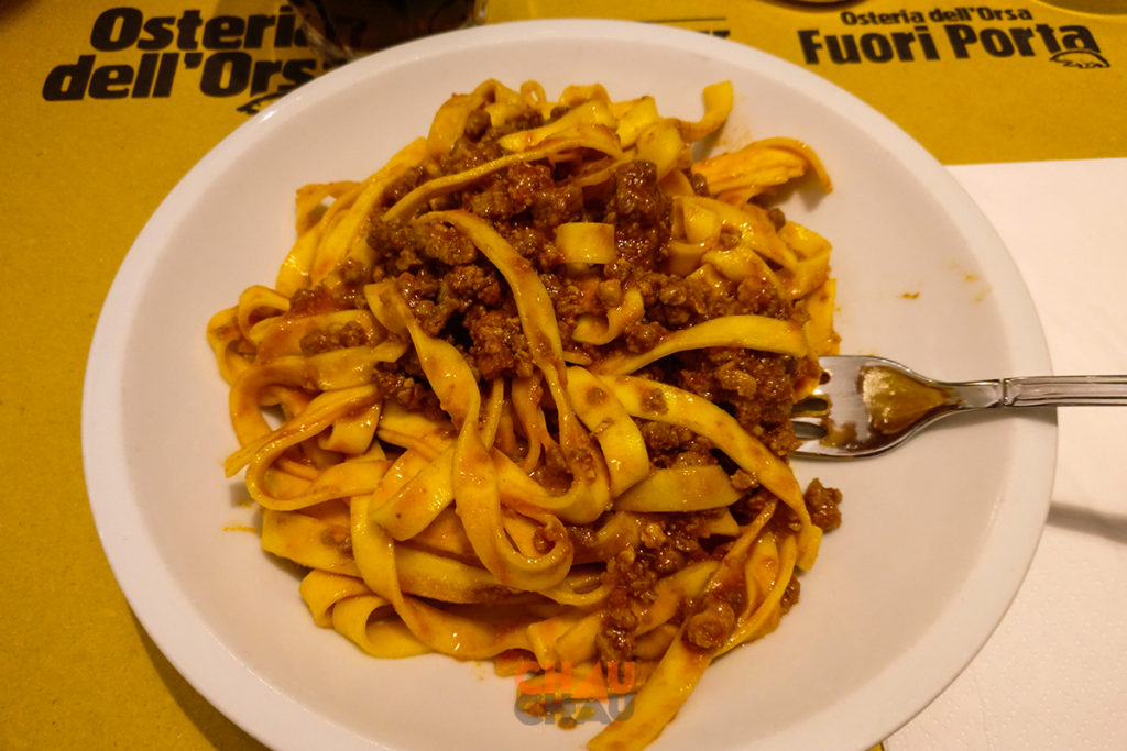 Comer barato en Bolonia