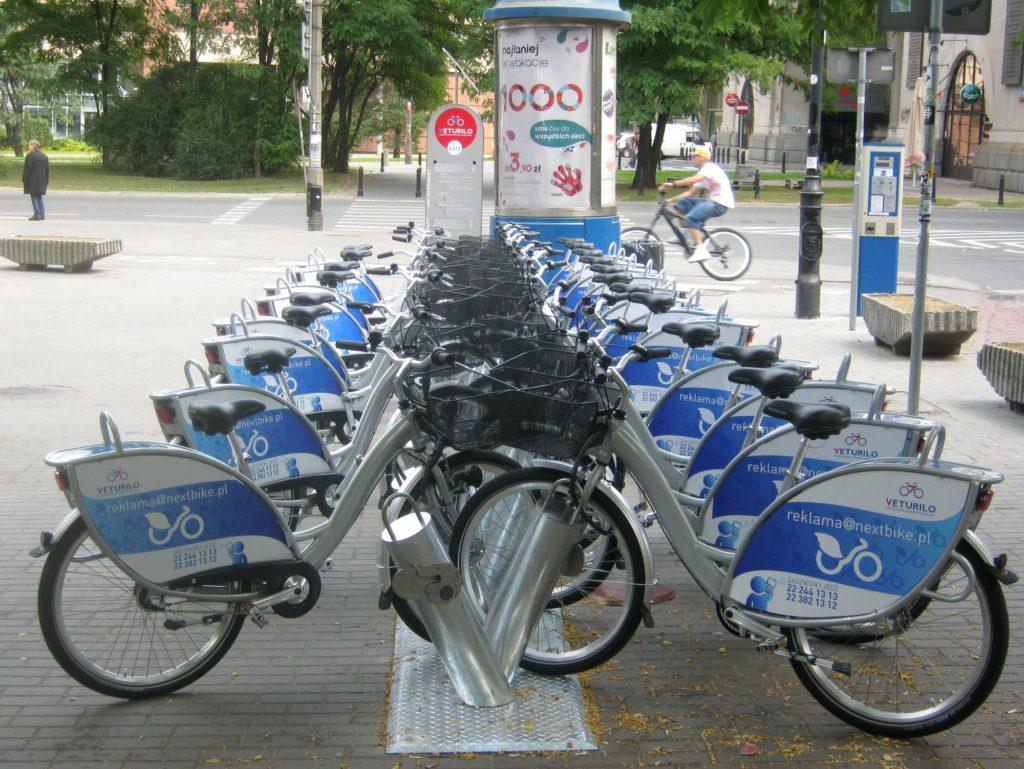 Alquiler de bicicletas en Varsovia, Veturilo