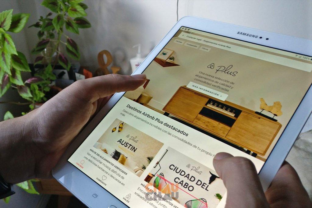 Aplicaciones para viajar - AirbnB