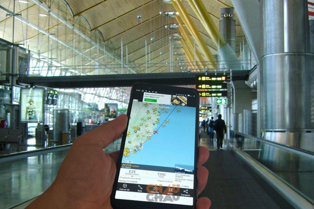 Aplicaciones para viajar - Flight Radar 24