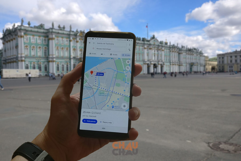 Aplicaciones para viajar - Google Maps