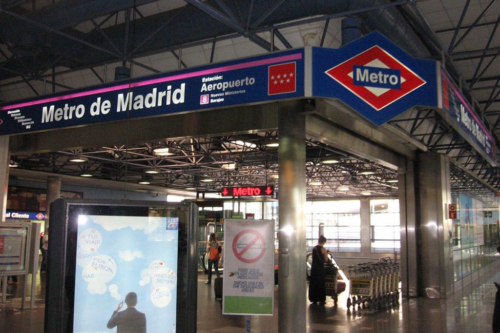 PRECIO METRO BARAJAS CENTRO MADRID