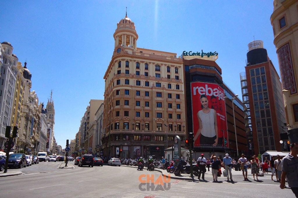 MEJOR ZONA DONDE HOSPEDARSE EN MADRID