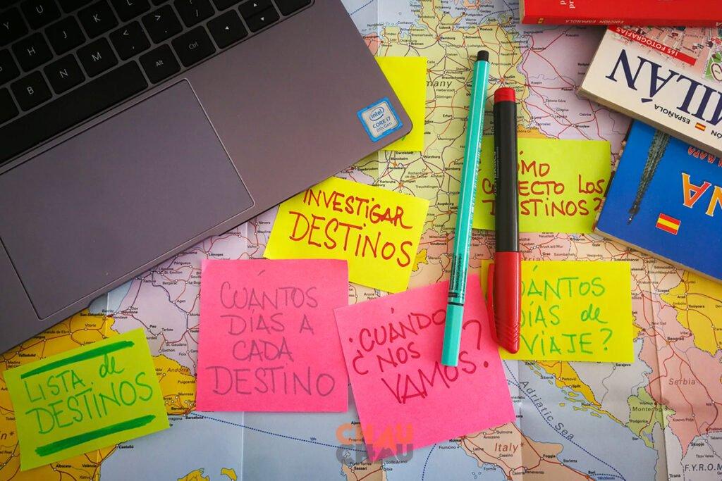 Hace el mapa de tus destinos